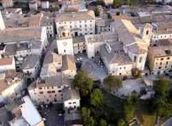 Gualdo Tadino - Foto aerea del Centro Storico