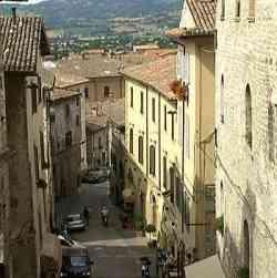 Strade di Gubbio