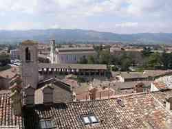 I tetti di Gubbio