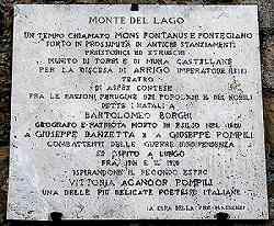 Monte del Lago  Magione