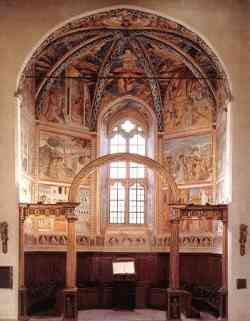 Montefalco - Interno Chiesa di San Francesco
