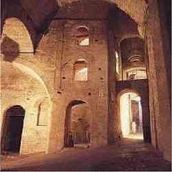 Perugia - Interno Rocca Paolina