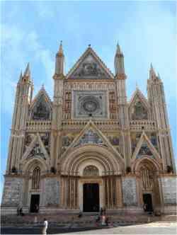 Orvieto - Facciata del Duomo