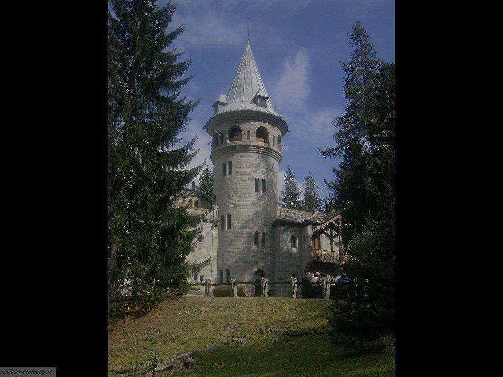Gressoney castello Savoia