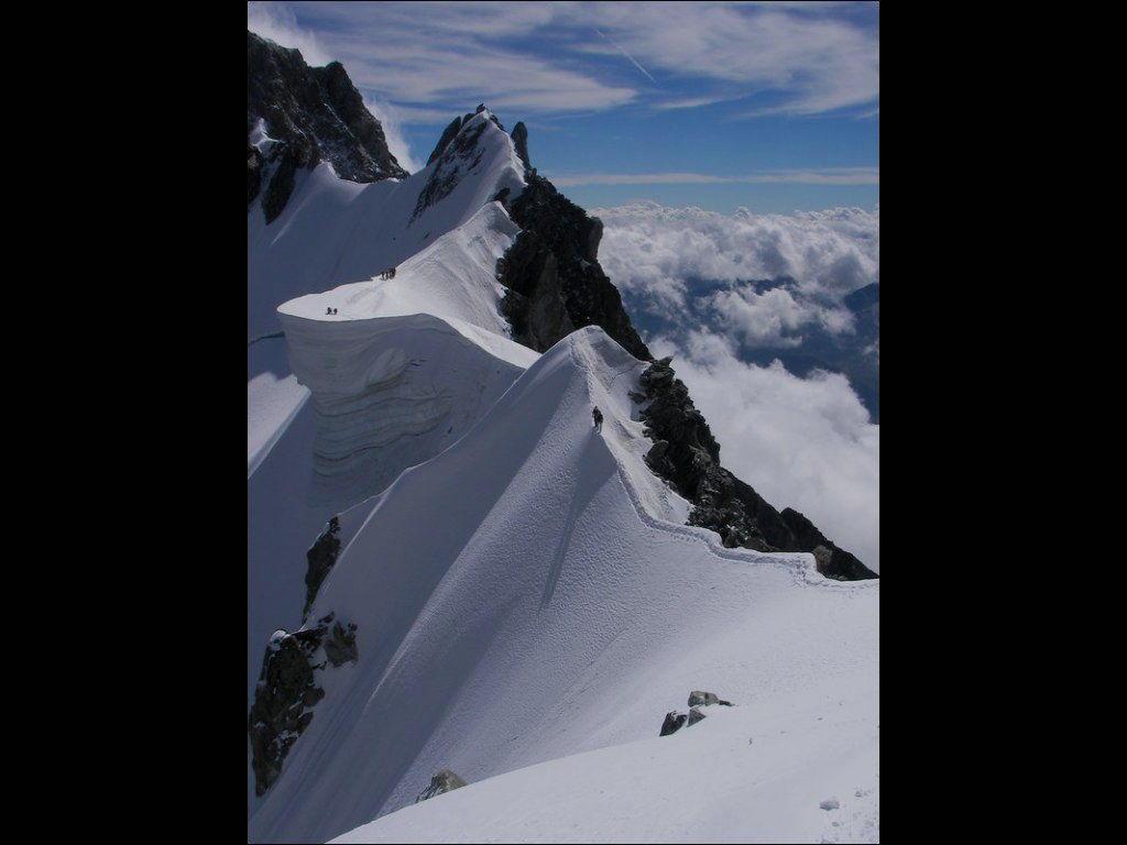 Rochefort Ridge monte Bianco