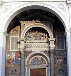 Aosta - Facciata della Cattedrale
