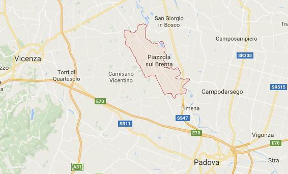Mappa di Piazzola