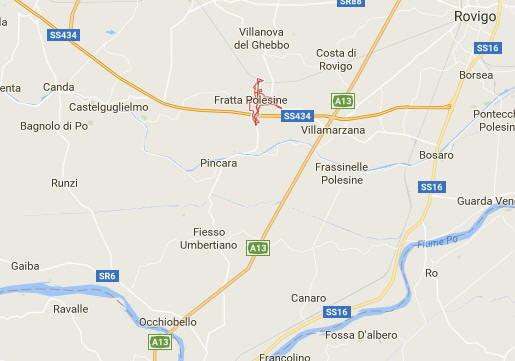 Mappa di Fratta