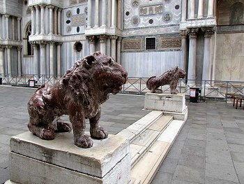 i leonicini della piazzetta di san marco