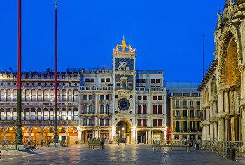 Torre dell orologio in piazza san marco