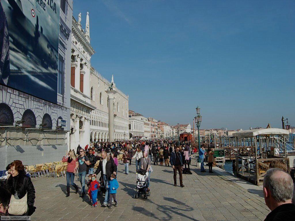Turisti in san Marco