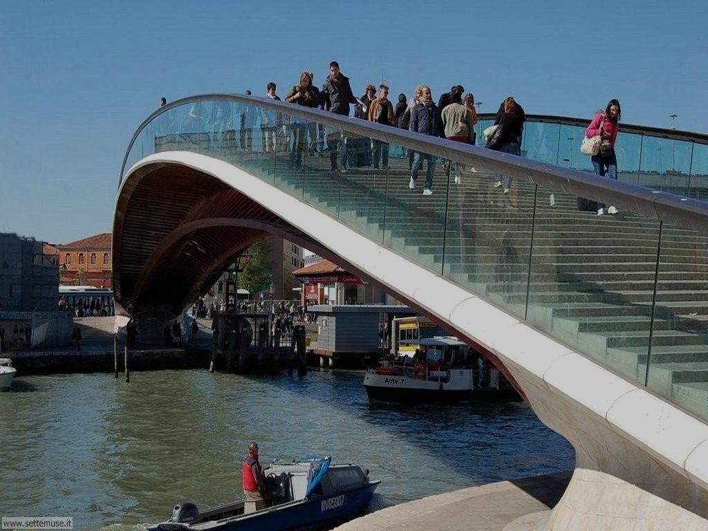 Ponte della Costituzione 089 progetto architetto Calatrava