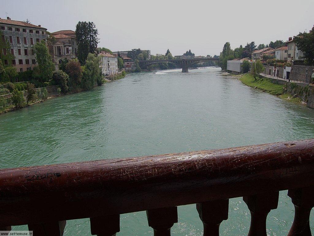 Il Brenta visto dal ponte di Bassano