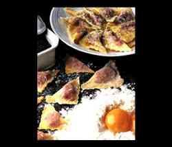 Cucina Bellunese, la fongadina, gnocchi alla cadorina