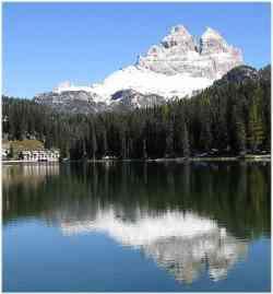 Lago di Misurina - Tre cime di Lavaredo