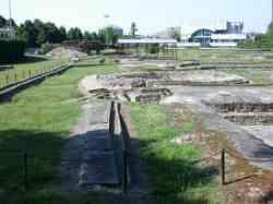 Montegrotto - scavi romani