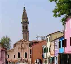 Isola di Burano - Chiesa di San Martino