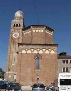Chioggia - Duomo e campanile