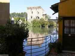 Borghetto - Veduta sul castello