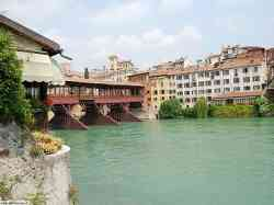 Bassano Veduta dal Ponte degli Alpini