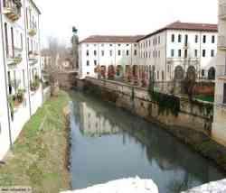 Vicenza il Fiume Bacchiglione