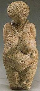 statuetta femminile