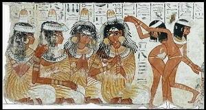 dipinto XVIII dinastia