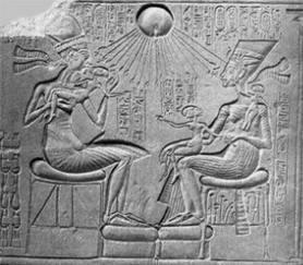 Akhenaton, Nefertiti, e le principesse