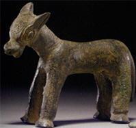 Statuetta in bronzo di un asino (Anatolia)