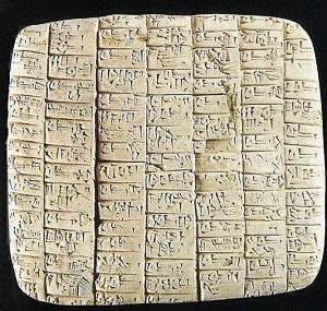 scrittura cuneiforme 2