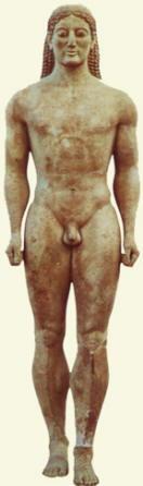 Kouros, 540 a.c.