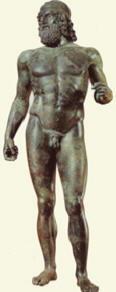 Bronzo A di Riace, attribuito a Agelades