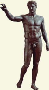 Eufranore, bronzo ritrovato in mare