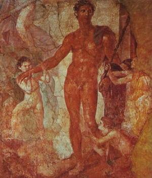 Eufranore: Teseo con bambini salvati dal Minotauro