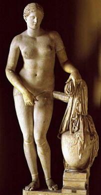 Prassitele: Afrodite di Cnidus