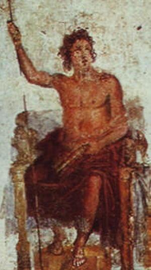 Alessandro come Zeus