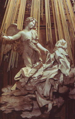 Bernini: Estasi di santa teresa