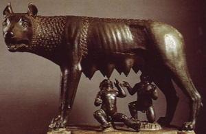 Lupa capitolina - bronzo (500-480 a.C.)