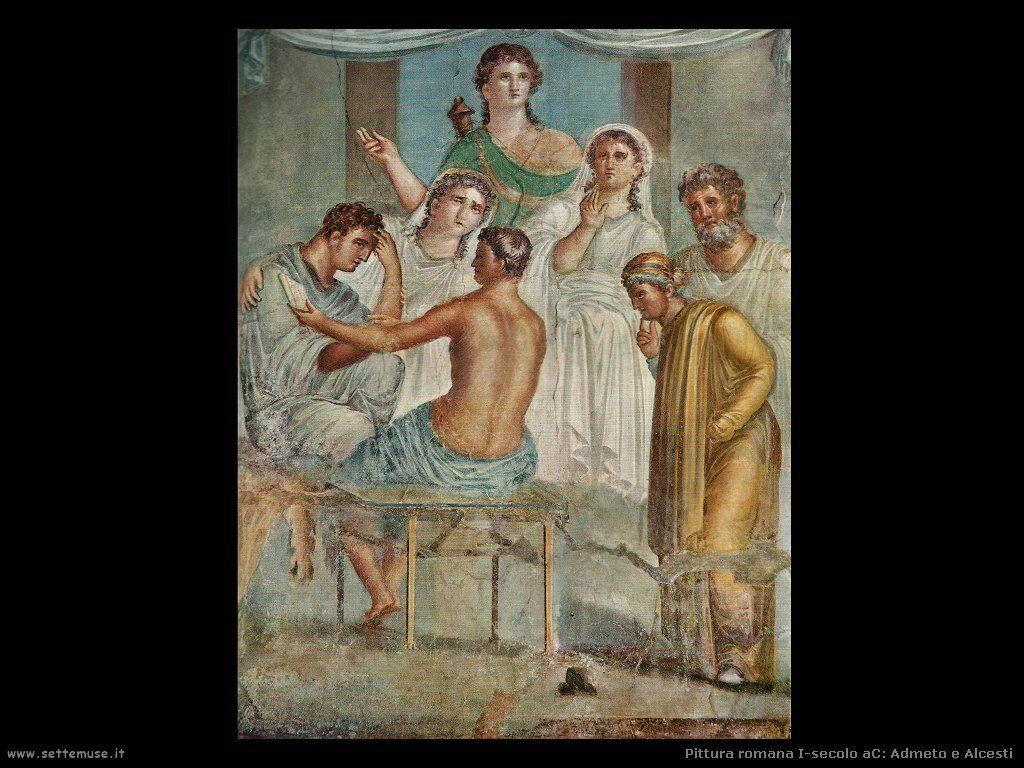 arte impero romano admeto e alcesti