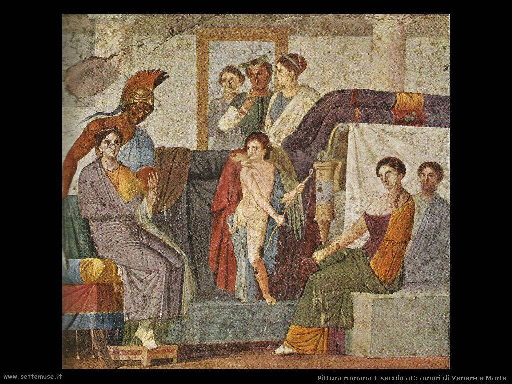 arte impero romano amori di venere e marte
