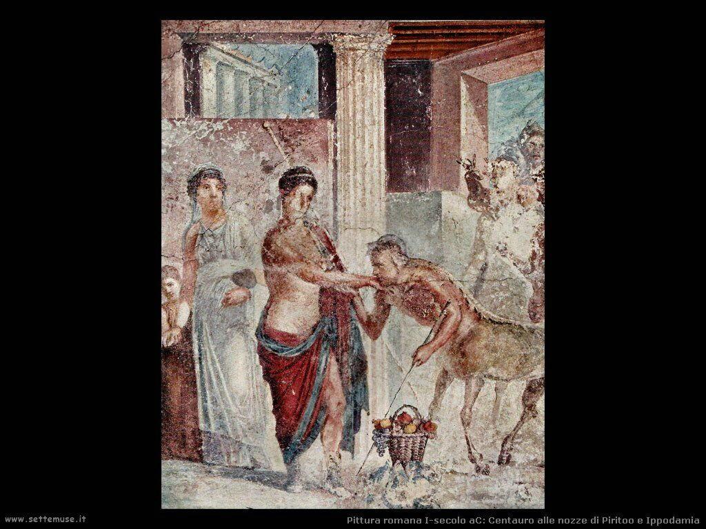 arte impero romano centauro alle nozze piritoo ippodami