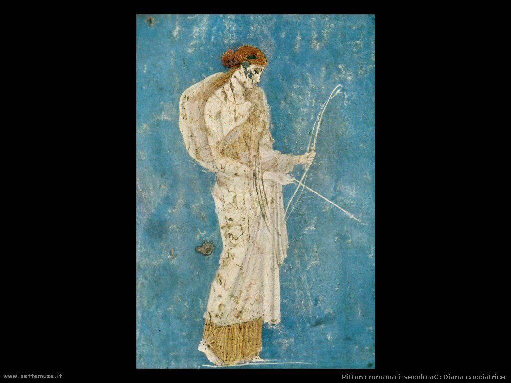 arte impero romano diana cacciatrice