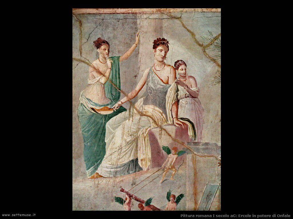 arte impero romano ercole in potere di onfale
