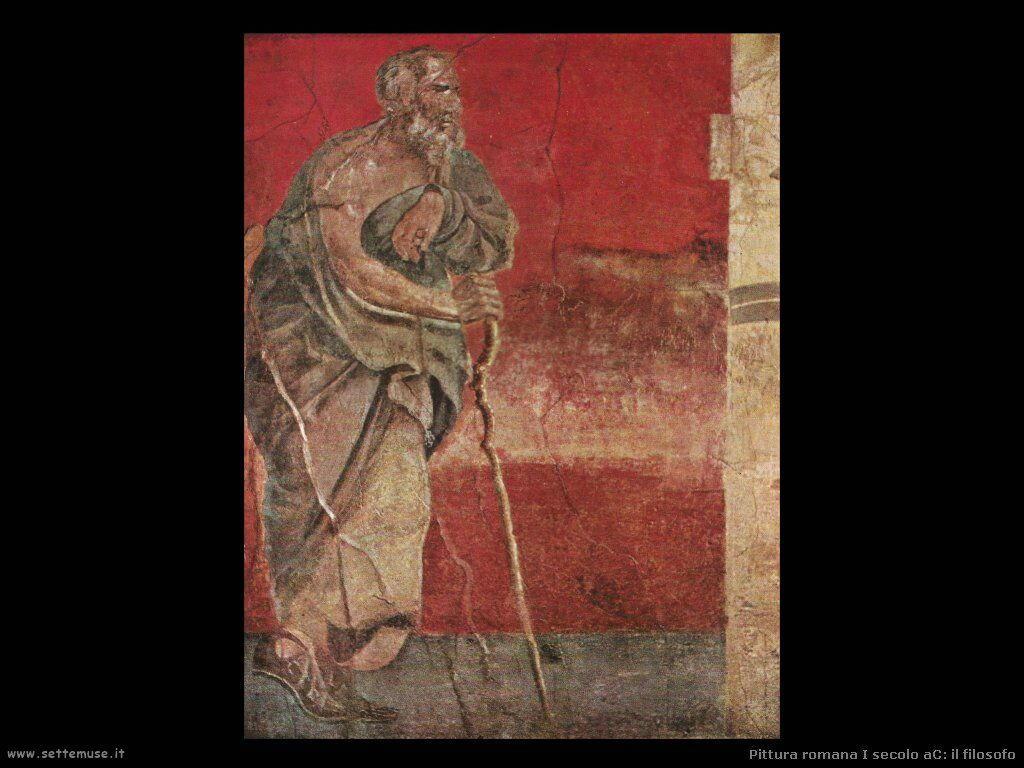 arte impero romano il filosofo