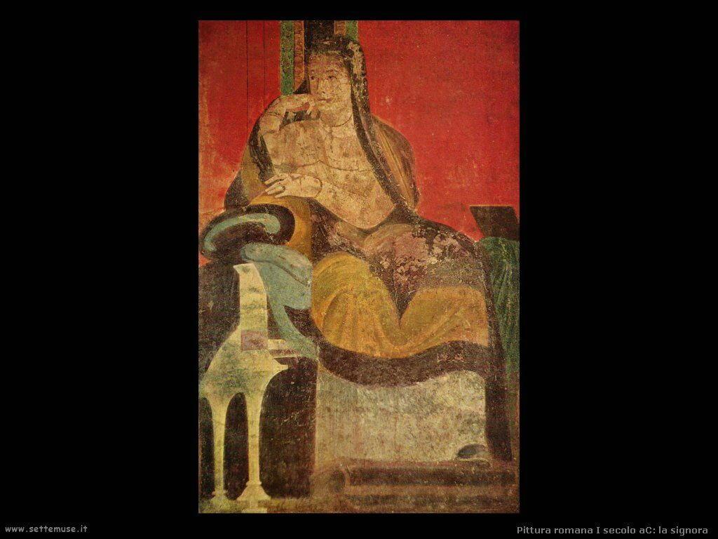 arte impero romano la signora