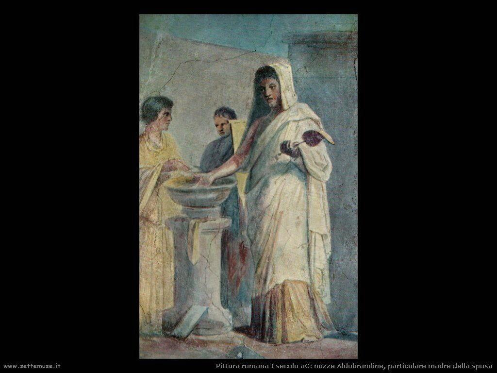 arte impero romano nozze aldobrandine