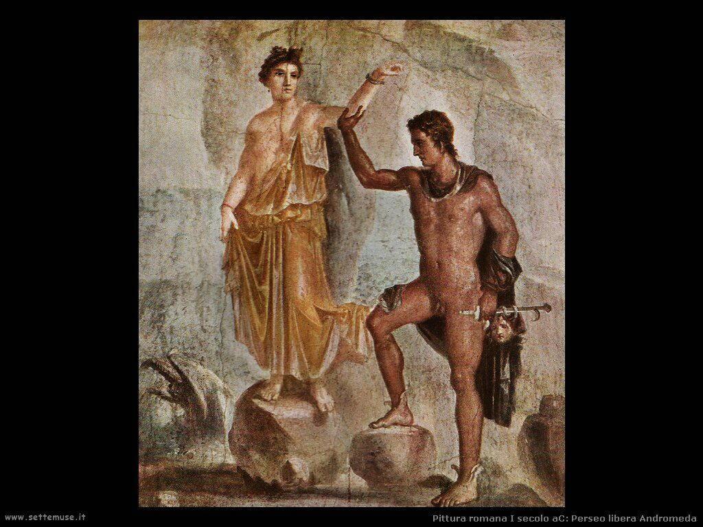 arte impero romano perseo libera andromeda