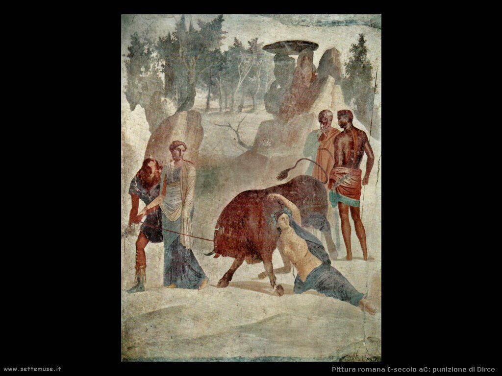 arte impero romano punizione di dirce
