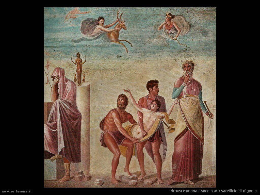 arte impero romano sacrificio di ifigenia