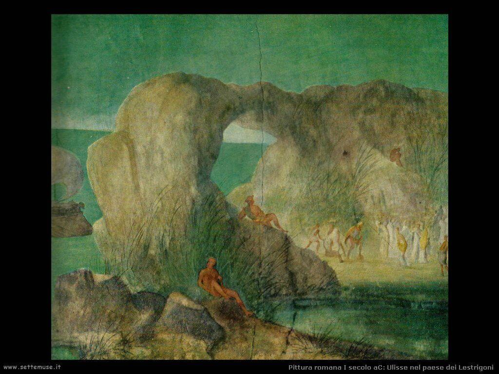 arte impero romano ulisse nel paese dei lestrigoni